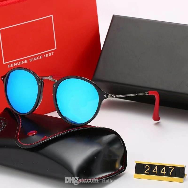 2021 mode marke design polarisierte sonnenbrille fahre eyewear metall gold rahmen brille männer frauen spiegel sonnenbrille polaroid glaslinse