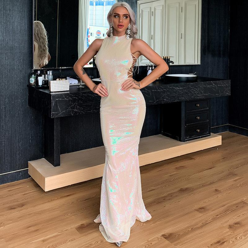 Casual Dresses Long Dress Elegant Celebrity Fashion Party Sexy Women Club Wedding Floor-Length Vestidos