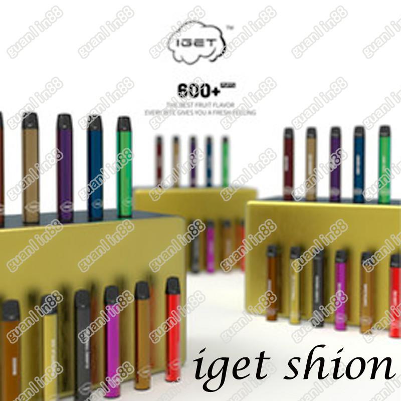 Newest IGET Shion Pod Disposable Device Pod Starter Kit 2.4ml Cartridge Vape Shipping Fast 30pcs each Box