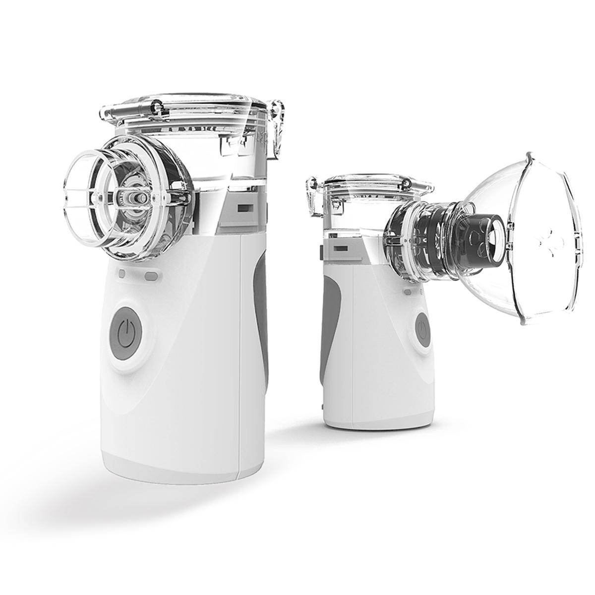 المحمولة شبكة البخاخات بالموجات البسيطة آلة البسيطة المحمولة المحمولة الاستنشاق الصامت التنفس الصامت لجميع chest شحن الرعاية الصحية nebulizador