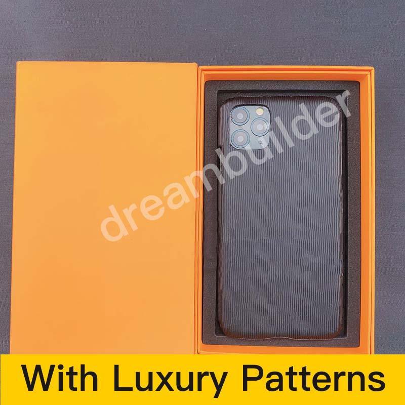 Designer Fashion iPhone 12 Pro Max 11 Pro MAX 7 8 PLUS x XR XS Max Case PU in pelle PU Samsung S10 20 Plus Nota 10p 20 u Case