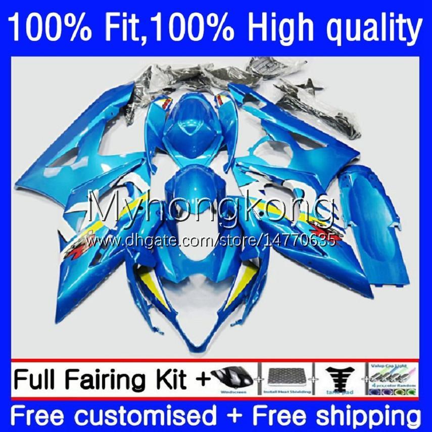 Suzuki GSX-R1000 GSXR1000 K5 2005-2006 Bodywork 26No.0 GSXR 1000 CC 1000CC 05 06 GSXR-1000 2005 2006 오토바이 OEM BODYS 공장 블루