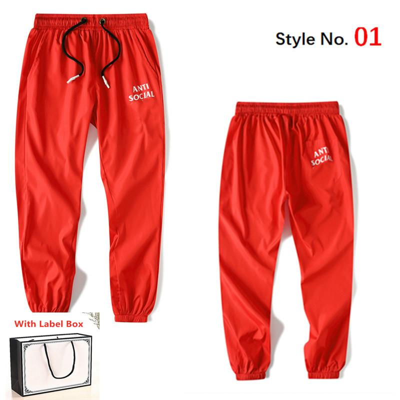 2021 Mens Calças High Street Calças para homens reflexivo Sweatpants Casual Mens Hip Hop Camo Streetwear Camo Alta Qualidade Com Caixa