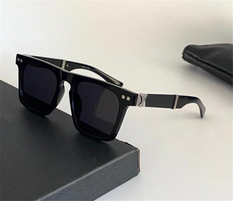 Vintage design de moda óculos de sol bjorn Agai quadrado placa quadro simples estilo punk verão uv400 óculos protetores top qualidade