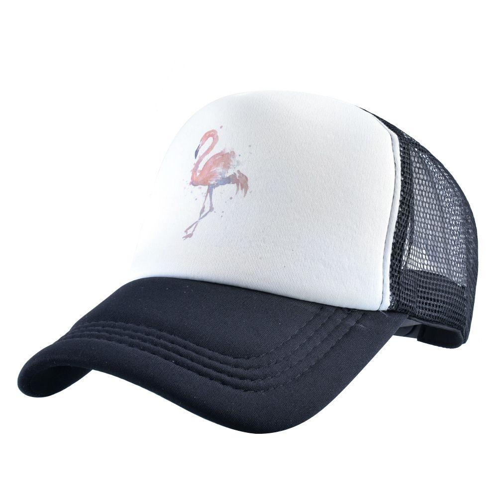 Chapéu de beisebol líquido dos homens do verão dos homens do flamingo