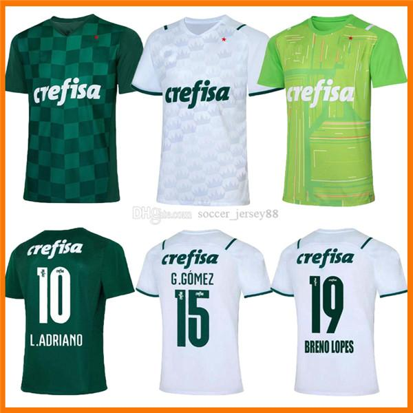 21 22 PalmEiras Soccer Jerseys Inicio Green Dudo G.Jesus Jean Alecsandro 2021 2022 Aleation Allione Cleiton Xavier Camisa de Futebol Camisetas de fútbol