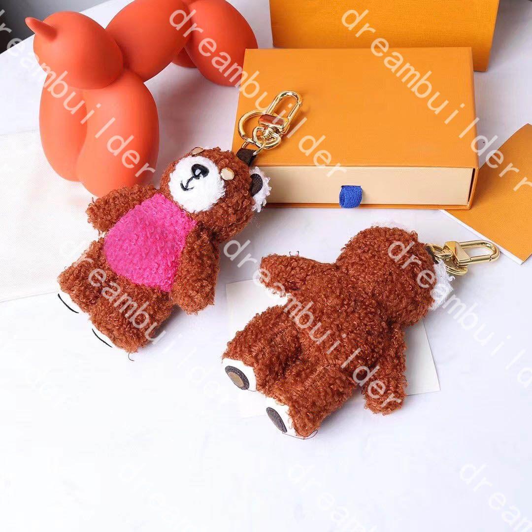 M69854 Fashion Designer Portachiavi Handmade Bambola Car Keychains Borsa da donna Borsa da donna Fascino Appeso Decorazione ACCESSORI PENDANTE