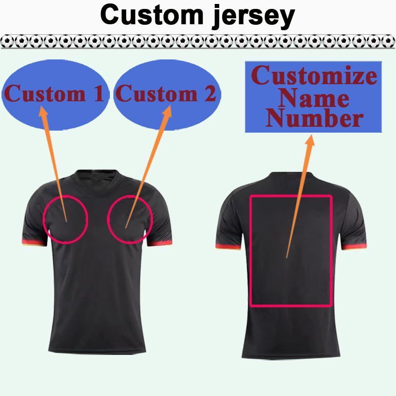 Custom National Team Club Mens Soccer Jersey Top Vous pouvez personnaliser les chemises de football design et le numéro tels que 32 Yanan