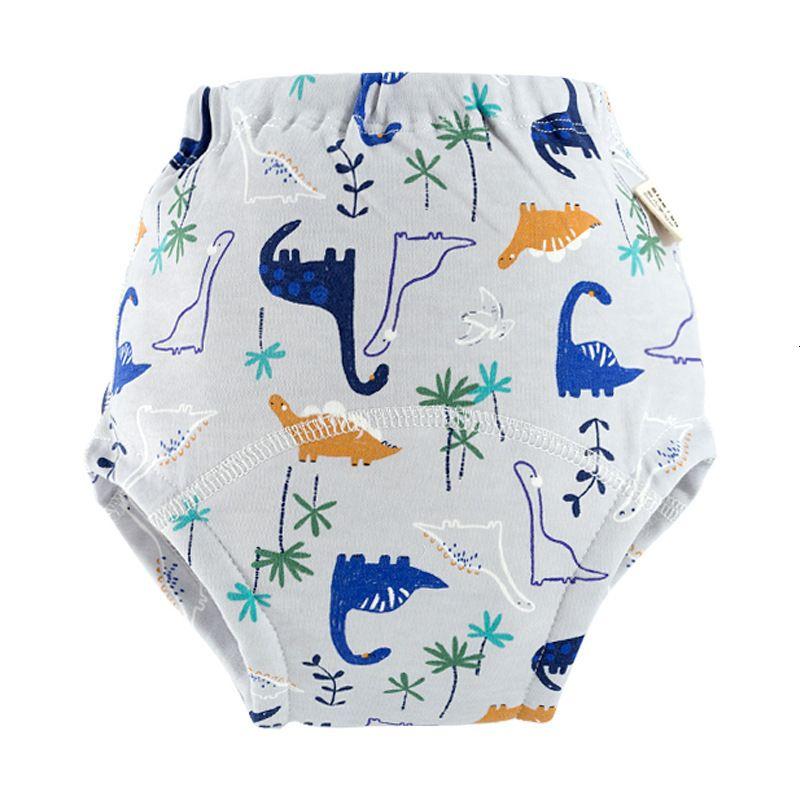2020 Tenedor de algodón lavable de 9 capas Baby Gauze Aprendizaje Pantalones de aprendizaje Pañal de verano Pantsbf15