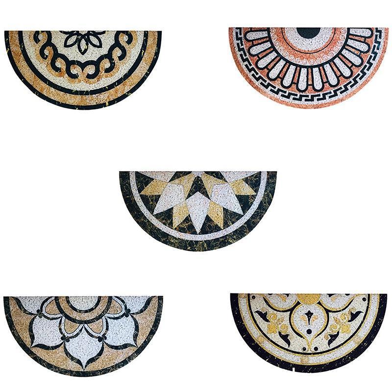 Modello di marmo antiscivolo Zerbino a zero tappetino da terra ingresso porta frontale tappeti per il pavimento assorbente porta assorbente porta tappetino da bagno 30x60 cm
