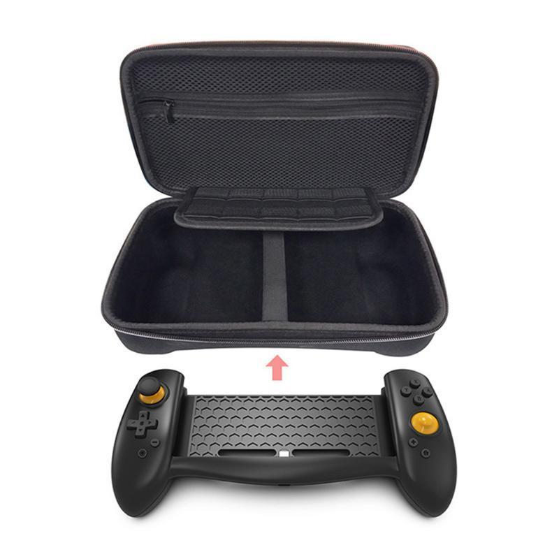 لعبة تحكم المقود gamepad تحكم حامل قبضة اليد للتبديل ns وحدة التحكم الملحقات التوصيل واللعب