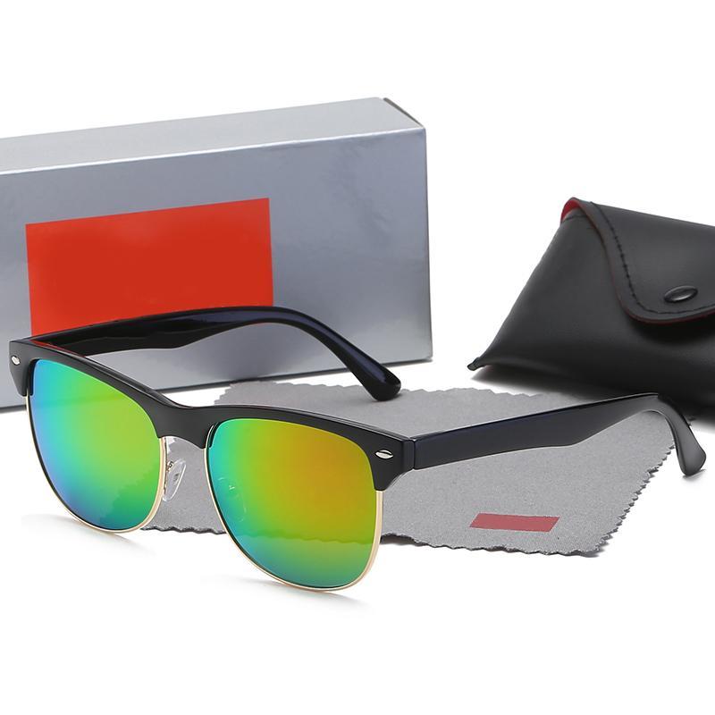 TFSYBHSRZ Çerçeve Cam Lens Lüks Güneş Gözlüğü Moda Sürüş Güneş Gözlüğü UV Koruma Kadın Erkek Marka Tasarımcısı Benzersiz Güneş Gözlüğü Rtgreh TJRJ