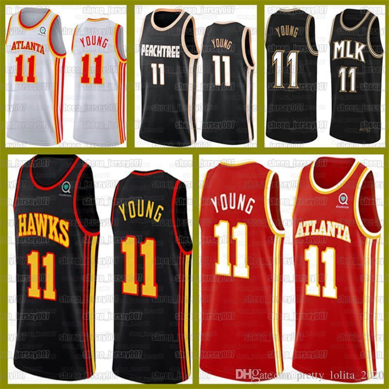 TRAE 11 Young Jersey HawksSpud 4 Webb 6 Lebron 23 James Trikots AtlantaBasketball-Lakers.Top 24.Bryant 8 Basketball