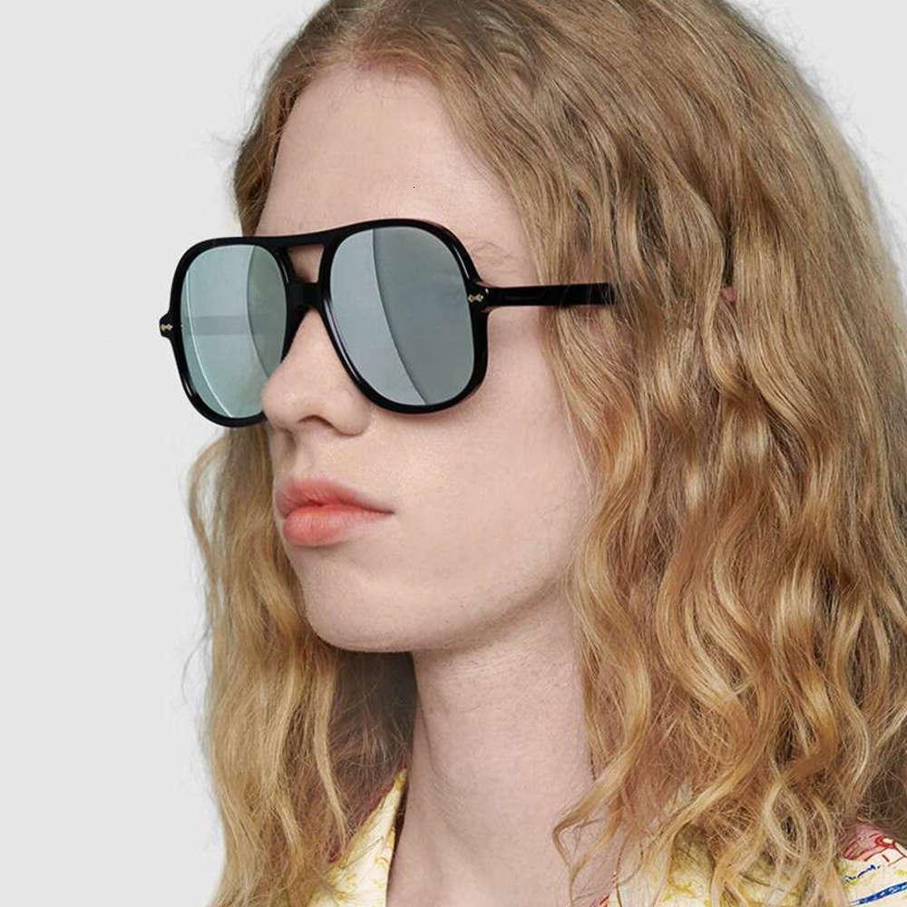 Retro Oval Rahmen schwarz Frauen Männer Großhandel Sonnenbrille Linse UV400 Augenbrille Schutz Mädchen Sexy Damen Pilot Eyewear Unisex