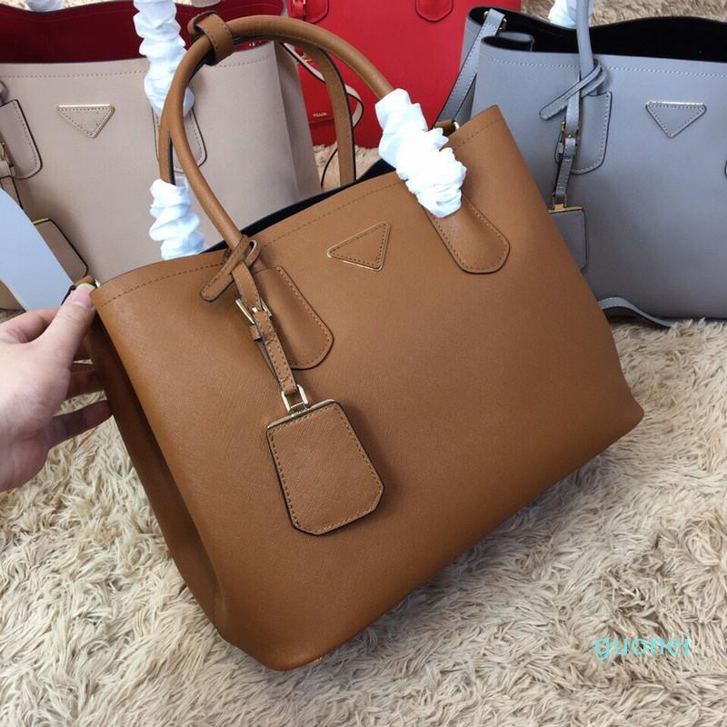 2021 luxurys designers sacos bolsa de couro genuíno saco crossbody dois tamanho saco de shoudler mulheres bolsa de fome grande bolsa Novos estilos