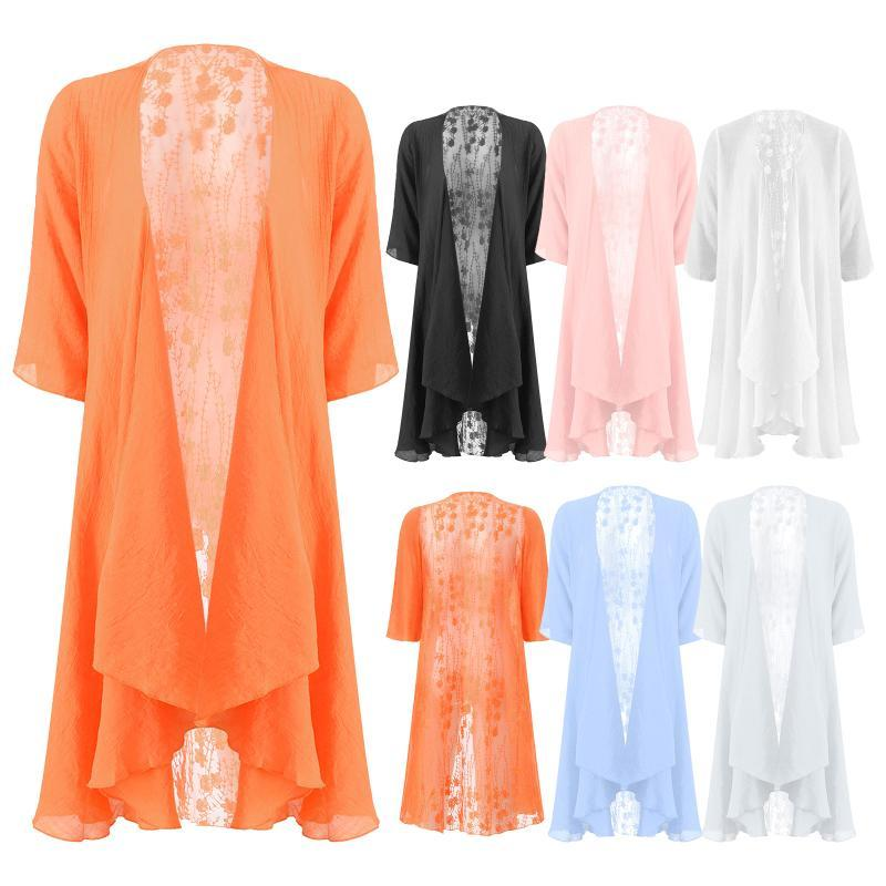 Wraps & Jackets Bridal Shawl Women's Bolero Ruffle Lace Open Front Cardigan Cover Ups Wedding Shawls Elegant Woman Long Shrug