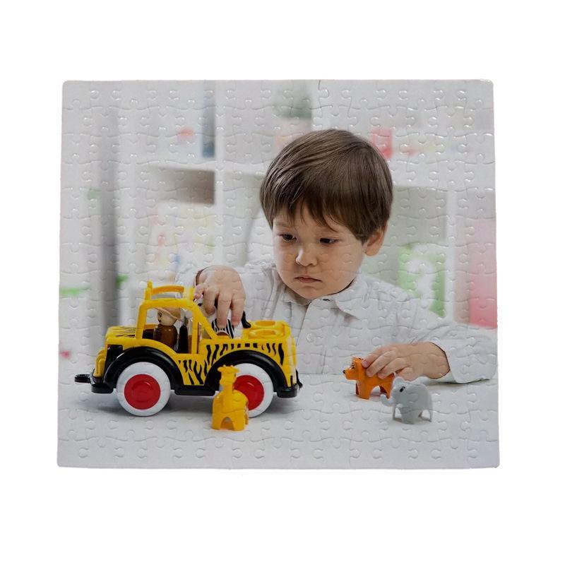 Sublimation Blank 27.3 * 30.4cm 210 Pièces Puzzles DIY Puzzle Chaude Transfert Impression Vierge Consommables Child Jouets Cadeaux Cadeaux LLA336