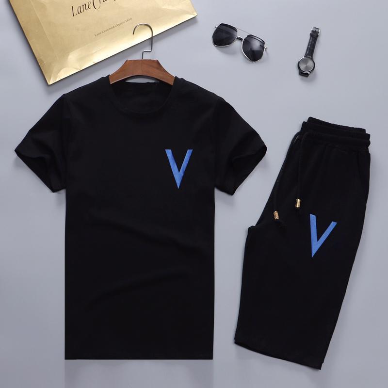 Yeni 2019 Marka Yeni Moda Takım Elbise Erkekler Spor Baskı Erkekler Hoodies Kazak Hip Hop Erkek Eşofman Tişörtü Giyim W66