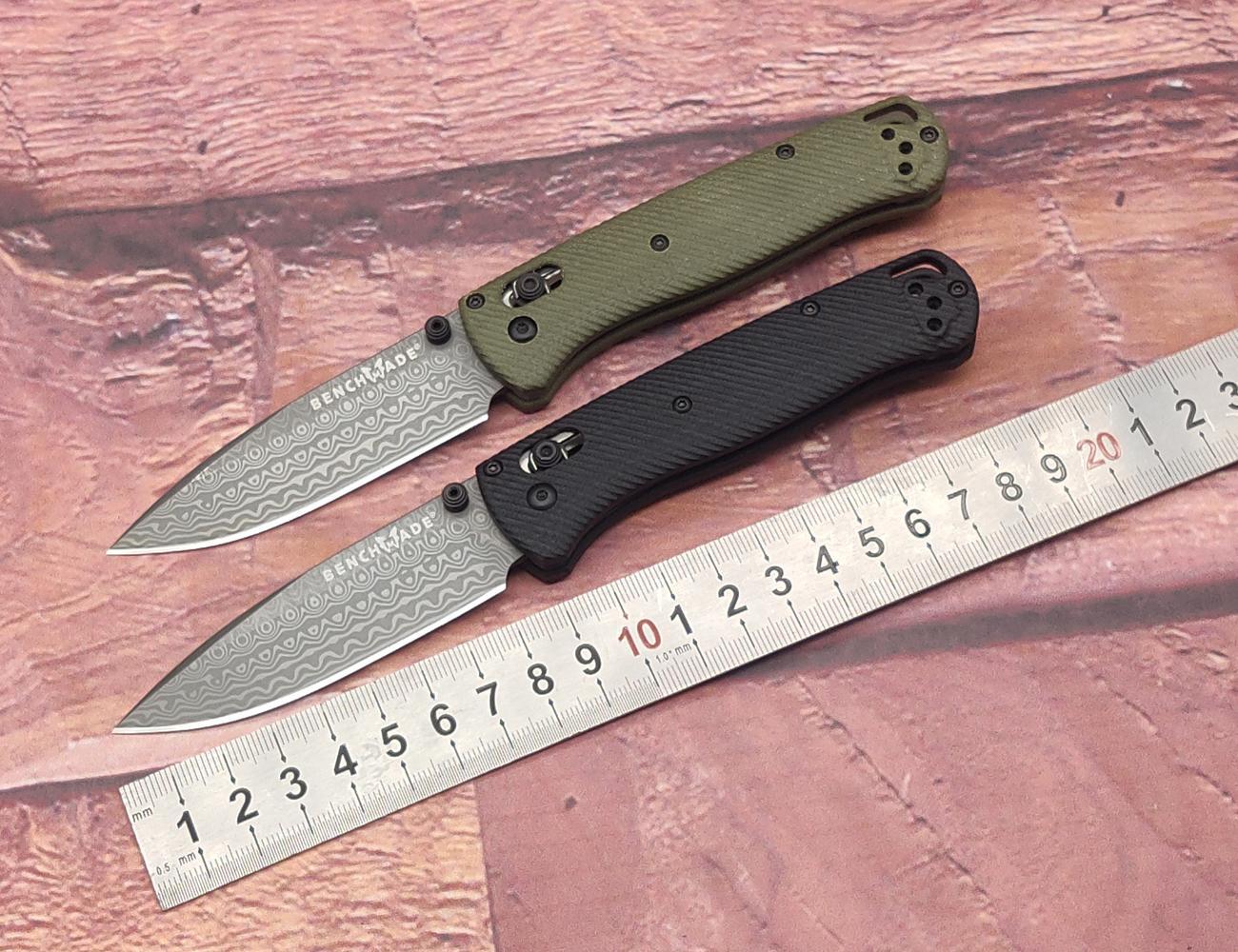 2021 535 535 cuscinetto a sfera in acciaio desktop coltello pieghevole maniglia G10 3D Gong modello antiscivolo Mano sensazione Tuas in acciaio VG10 in acciaio coreless per tagliente a