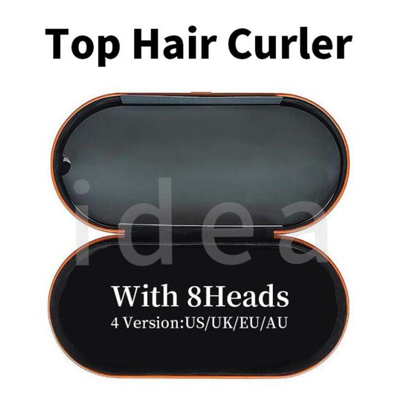8 رؤساء الشعر بكرة الشعر مع هدية مربع متعدد الوظائف جهاز تصفيف الشعر التلقائي الحديد الشباك للشعر العادي أعلى جودة الاتحاد الأوروبي / المملكة المتحدة / الولايات المتحدة / الاتحاد الافريقي