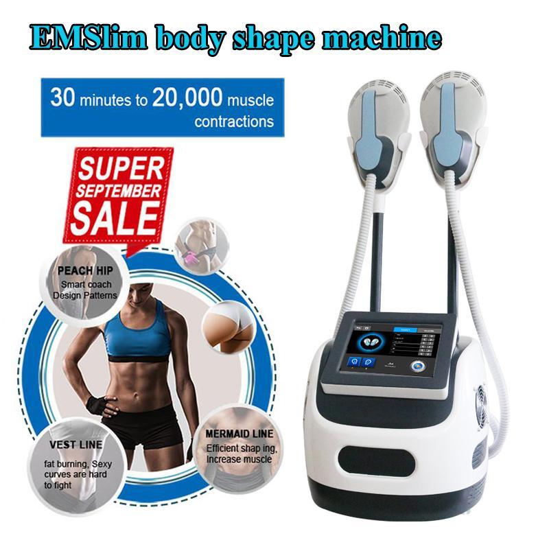 HIEMPS EMSLIM CUERPO Forma Portátil EMS Máquina de adelgazamiento de grasas para la construcción muscular Estimular la reducción de la celulitis