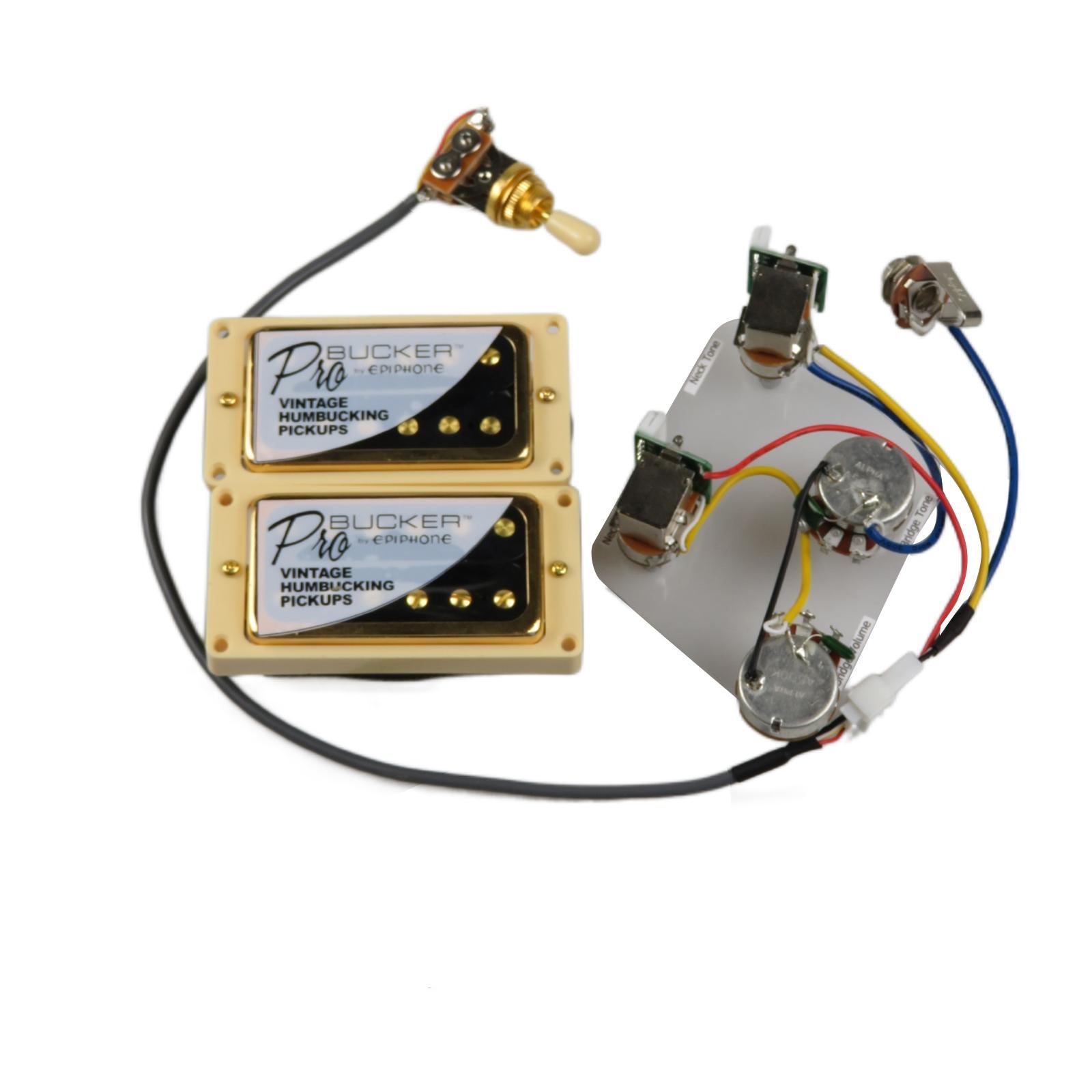 Pickup per chitarra elettrica ALNICO V Probucker Push / Tiro per
