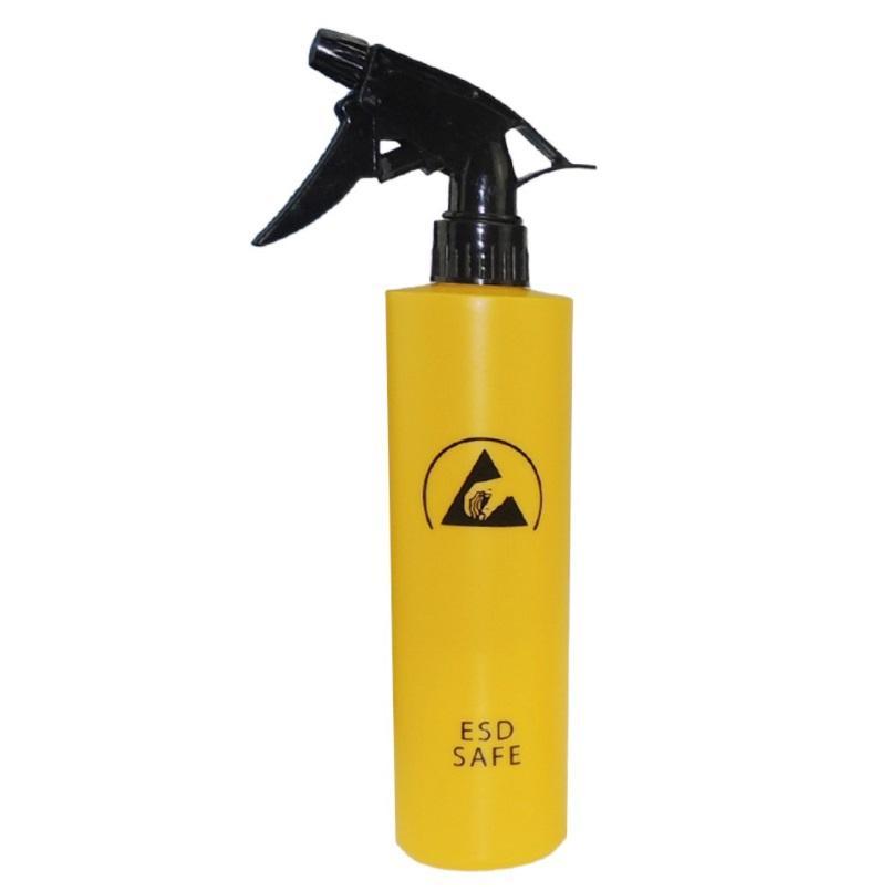 Высокое качество 250 мл желтый распылитель ESD бутылка 8 унций антистатический пластиковый растворитель дозатор статическое рассеивание для области EPA и чистой комнаты