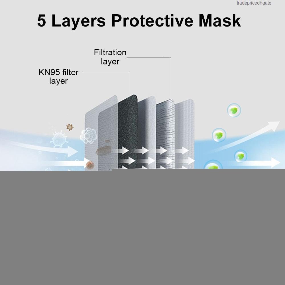 FFPS 95% респиратор KKF94 слои 5 фильтрация США многоразовый дыхательный маска для лица такая же как KF94
