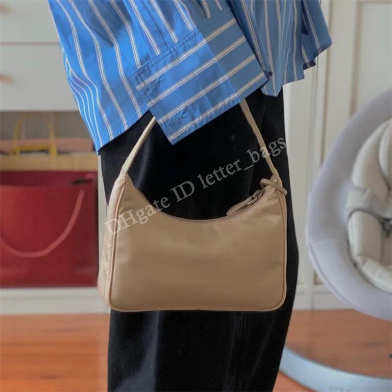 المصممين الفضلات النساء النايلون 2021 الأفاق المساء حقيبة الكتف الإبط الأزياء crossbody البري حقائب القابض حقائب حقيبة محفظة محفظة محافظ المحافظ