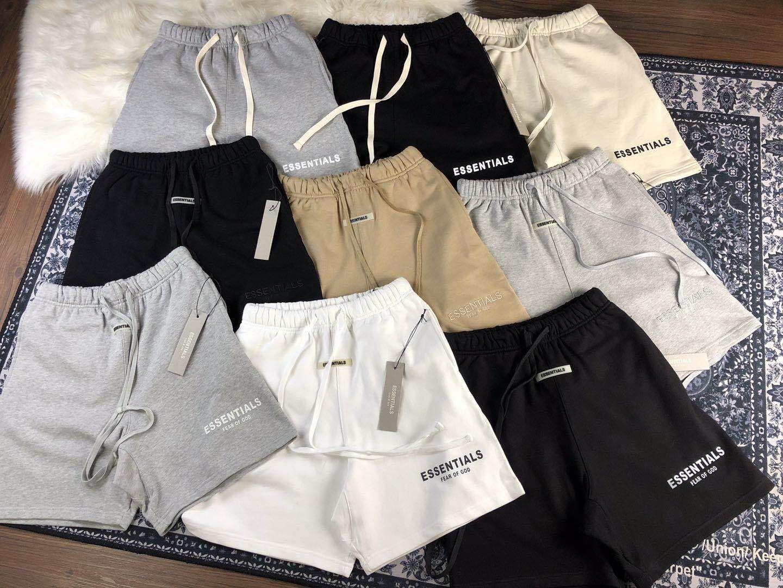 22 Designs of Mens Shorts Algodão Casual Shorts Esforço Calças Esportivas Sportwear Mens Outfit Moda Homem Shorts Relaxetrunks Design confortável-3