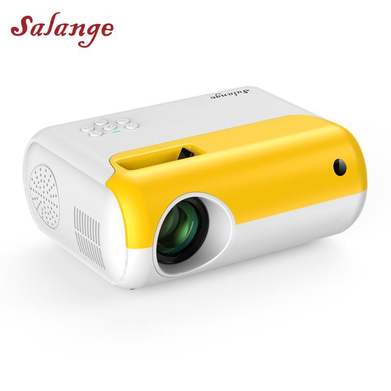 Salange P80 Led Mini Projector 800x480dpi 2800 Lumen Portable Projetor 1080P Supported Proyector for Home Theater Video Beamer