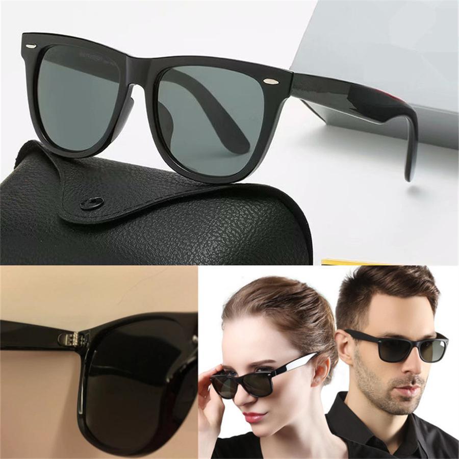جودة عالية الاستقطاب عدسة الطيار الأزياء نظارات للرجال النساء العلامة التجارية مصمم خمر الرياضة نظارات الشمس مع القضية والصندوق