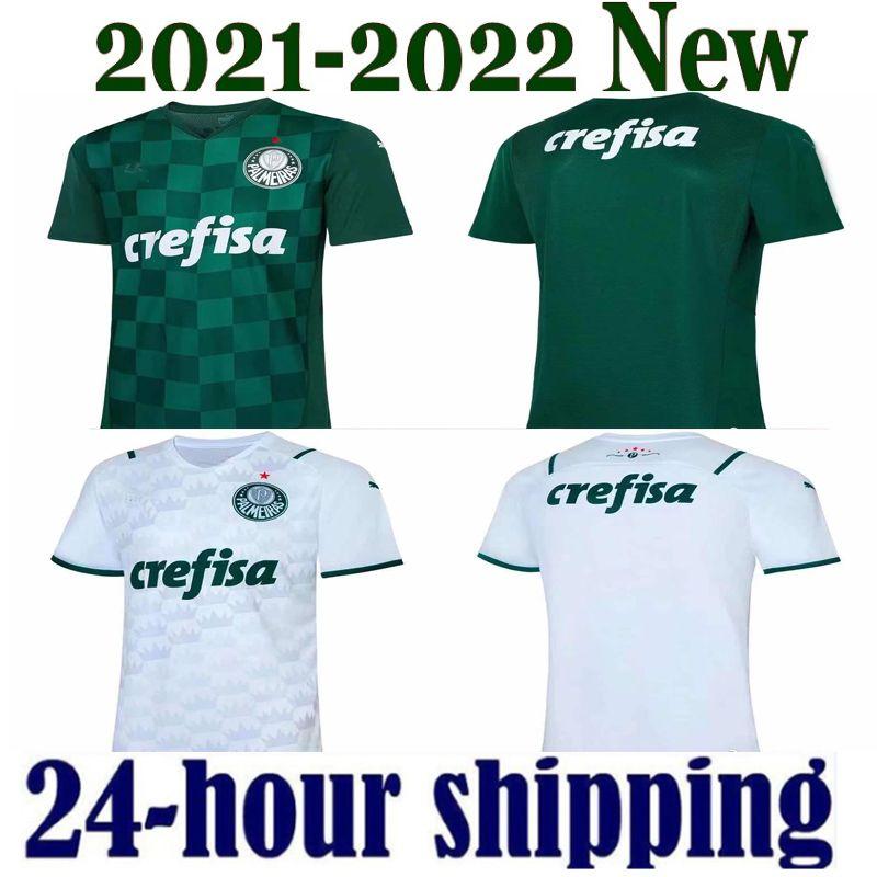 21 22 Palmeiras Futbol Formaları Palmeras Dudu 2021 2022 Palmeiras SP Felipe Melo Veron Futbol Gömlek Henrique Rony Adriano Jersey