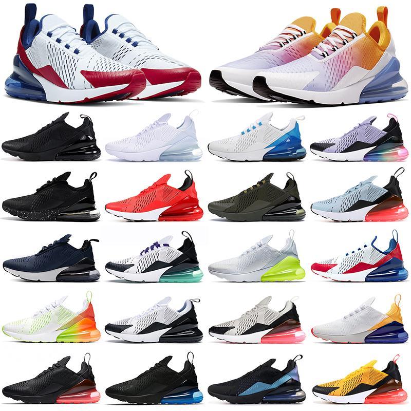 РеагироватьБегОбувь Мужчины Женщины Наружные Тренеры Трехместный Черный Ядро Белая Радуга Мода Мужская Женская Спортивные кроссовки 36-45