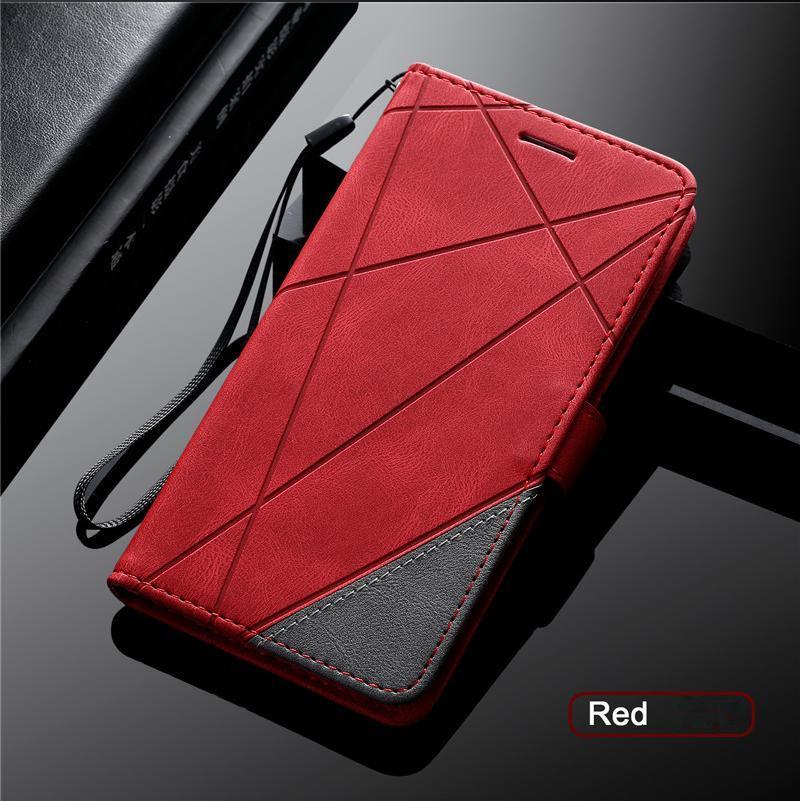 IPhone 12 11 Durumda SE 6 6 S 7 8 Artı X XS Max Kapak Çevirme Deri Kılıfları Coque Cüzdan Kapakları