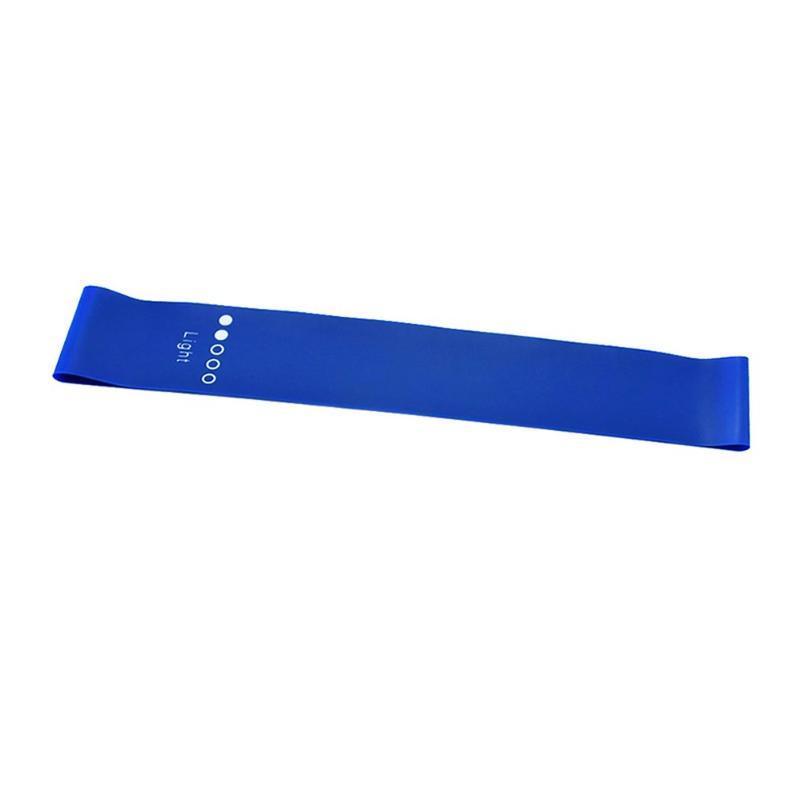 5 Colors Йога Сопротивление Резиновые полосы Крытый Открытый Фитнес Оборудование 0.35 мм-1.1 мм Пилатес Спортивные тренировки Обучение Эластичные полосы