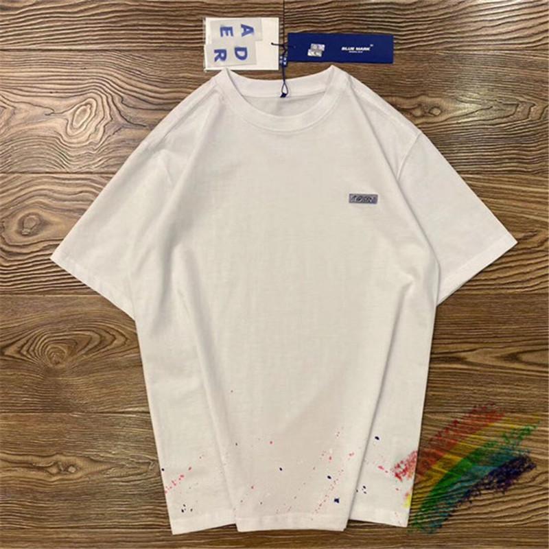 2021SS T-SHIRT Männer Frauen T-Shirts SEW SEW Blue Mark Tops