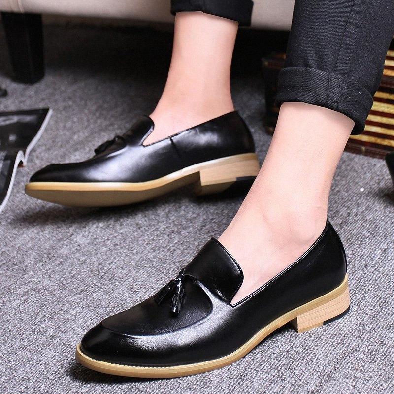 Goodrsson Socialcelebrity Mens Sapatos Borla Personalidade Moda Mens Sapatos Casuais Compras confortáveis Menshoes sapatos Homens v0un #
