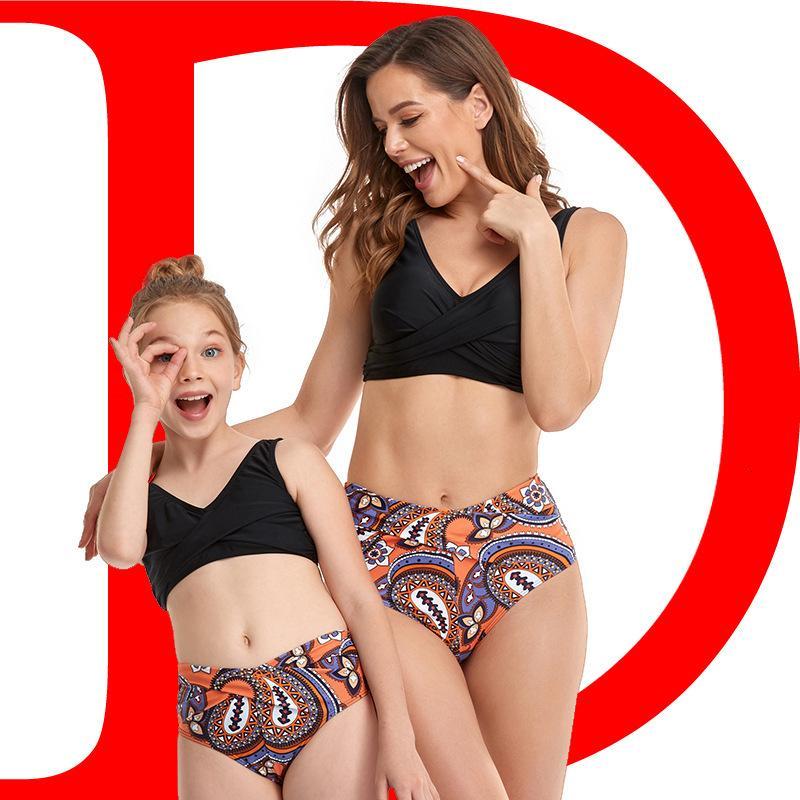 Novo pai pai Split Swimsuit 2021 Bikini
