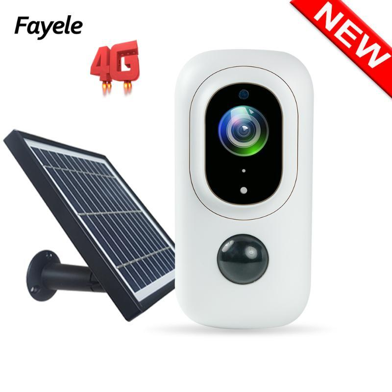 Home Security MINI 4G SIM Card 1080P WIFI IP Camera 3W Solar Panel Battery PIR Detection Camera Security Monitor 2 Way Audio SD