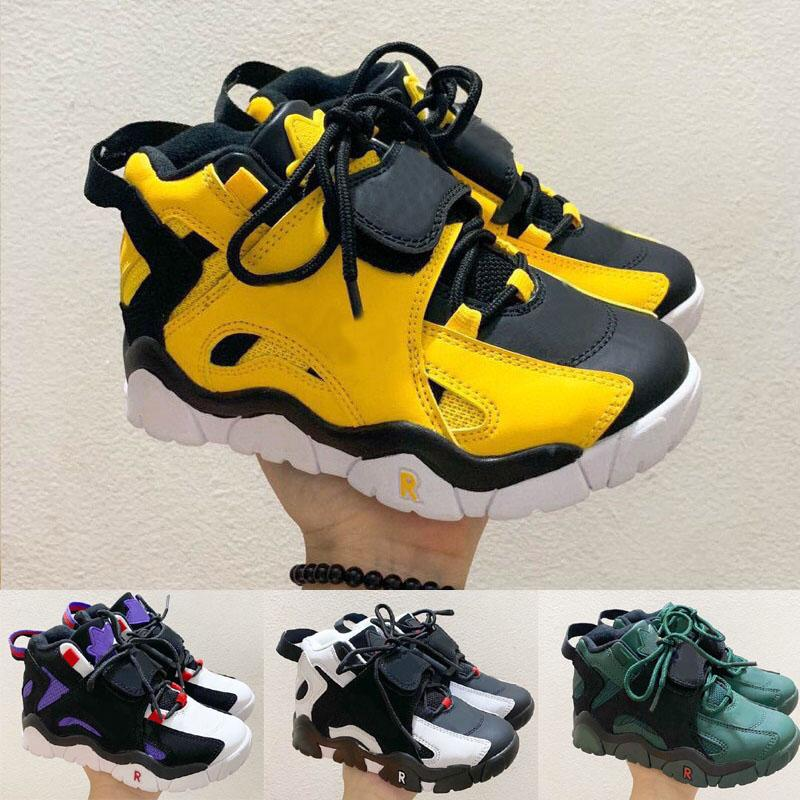 2021 Scottie Pippen 2 Hava Ayakkabı Çocuk Erkek Kız Çocuk Gençlik Basketbol Spor Ayakkabı Paten Sneaker Boyutu EUR28-35