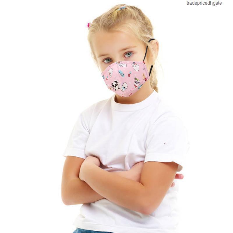 Распечатать не реально с детьми с детскими масками мультфильм клапан дыхания PM2.5 активированный углеродный фильтр анти пыль моющаяся многоразовая маска для многоразового цвета