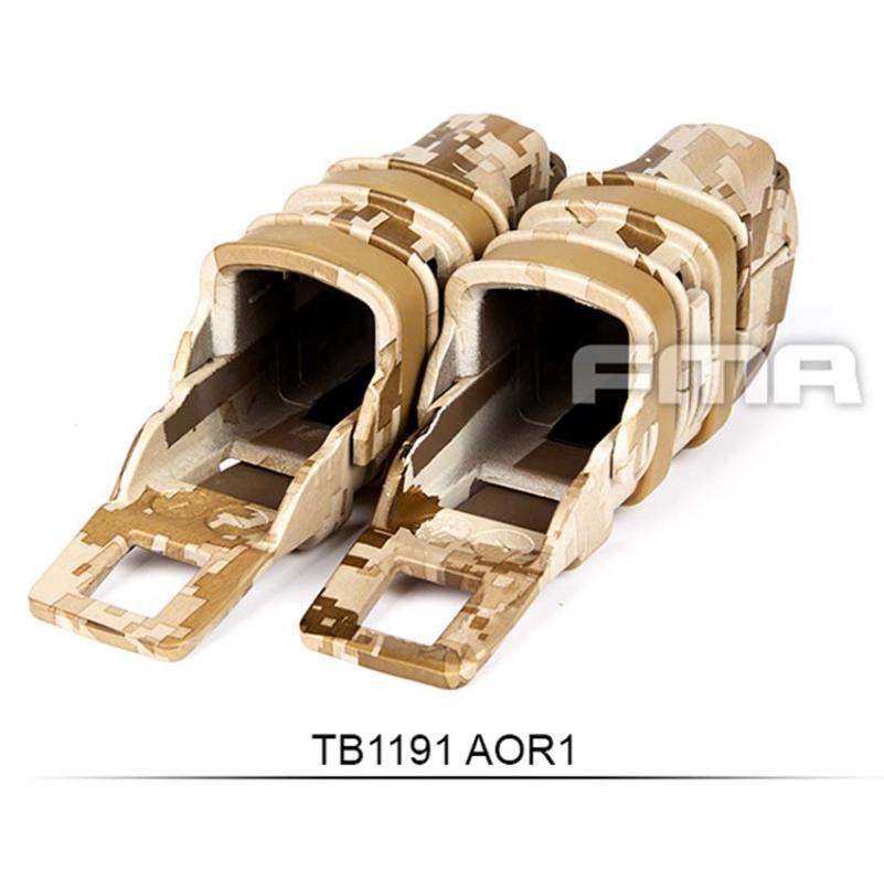 Cascos de ciclismo TB1191 Outdoor FMA Transferencia de agua Tactical Fast Mag Pouch Holster Magazine Set para Molle AOR1 AOR2