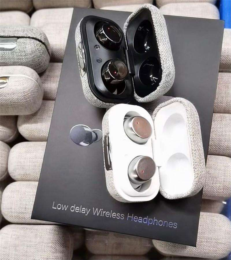 N80 بلوتوث 5.0 ستيريو حقيقي اللمس اللاسلكي مفتاح القماش نمط للماء سماعات رأس الأذن عرض الرقمية الرياضة اللاسلكية تستريو ستيريو