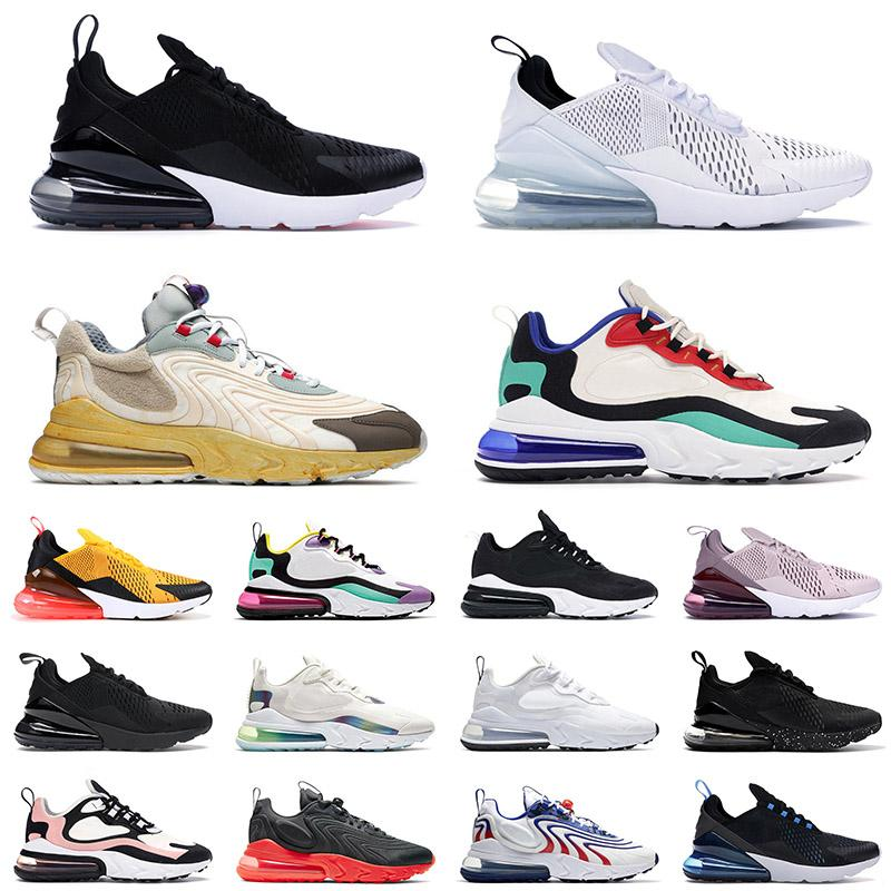 2020 free run react running shoes for men womens tennis Bleached Coral Pink Bauhaus HYPER JADE triple white black sports sneakers 36-45