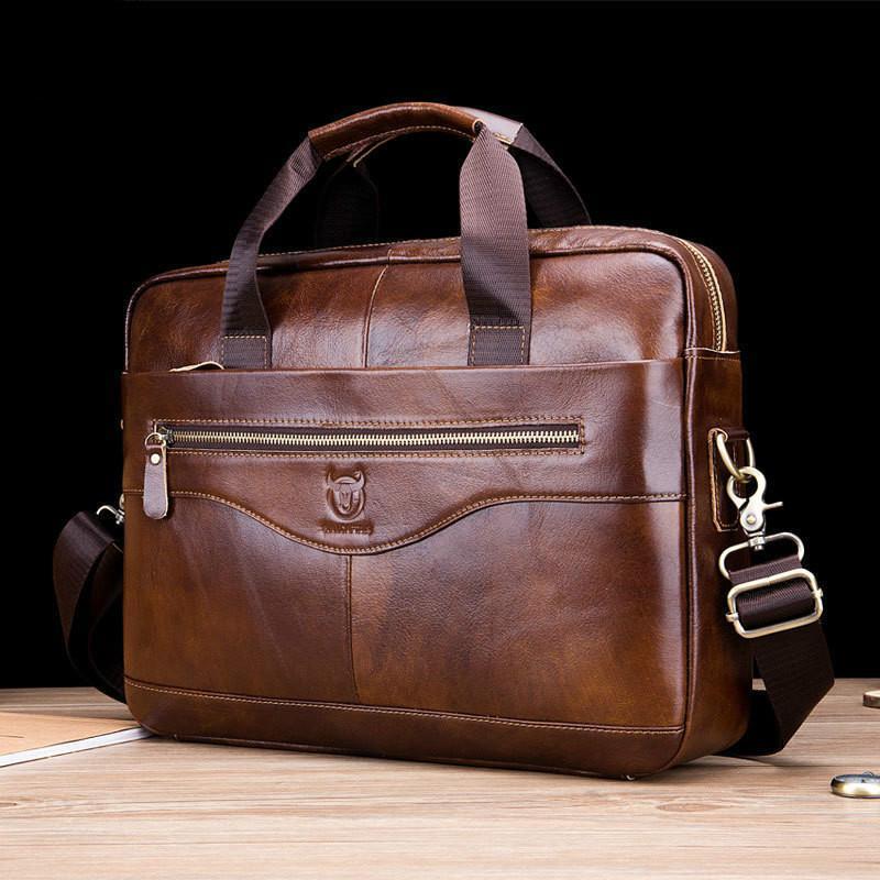 حقائب جلدية جلد البقر حقيبة جلد رجالي حقيقي حقائب crossbody حقائب عالية الجودة فاخر الأعمال رسول المحمول