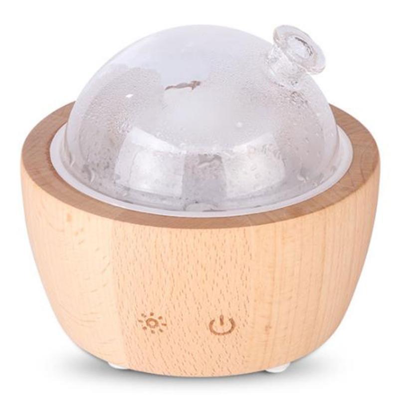 Difusor de aroma de efecto de luz LED colorido Dormitorio del hogar Humidificador P9YD
