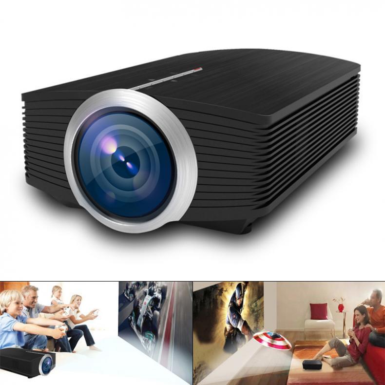 YG500 UNIVERSAL HD Proyector 1920x1080 Resolución LED Proyector de bolsillo para asistencia para el hogar y entretenimiento Proyección de pantalla grande de 120 pulgadas