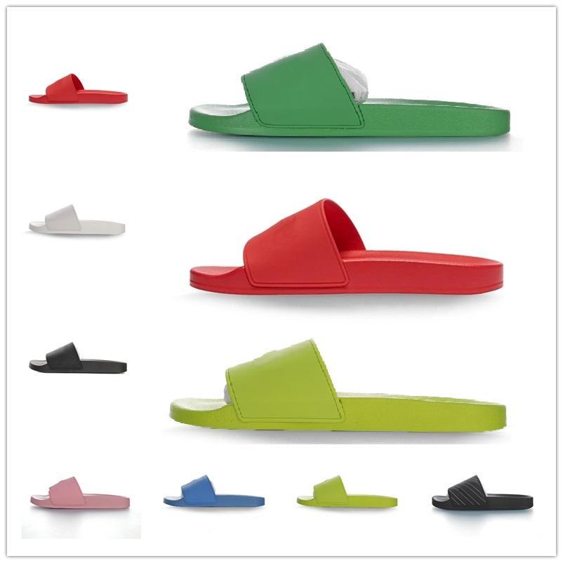 2021 Balenciaga 2021 Sandales à la mode Sandales Pantoufles pour hommes Femmes avec boîte originale Designer Hot Designer Unisexe Plage Flip Flip Flip Slipper Meilleure qualité