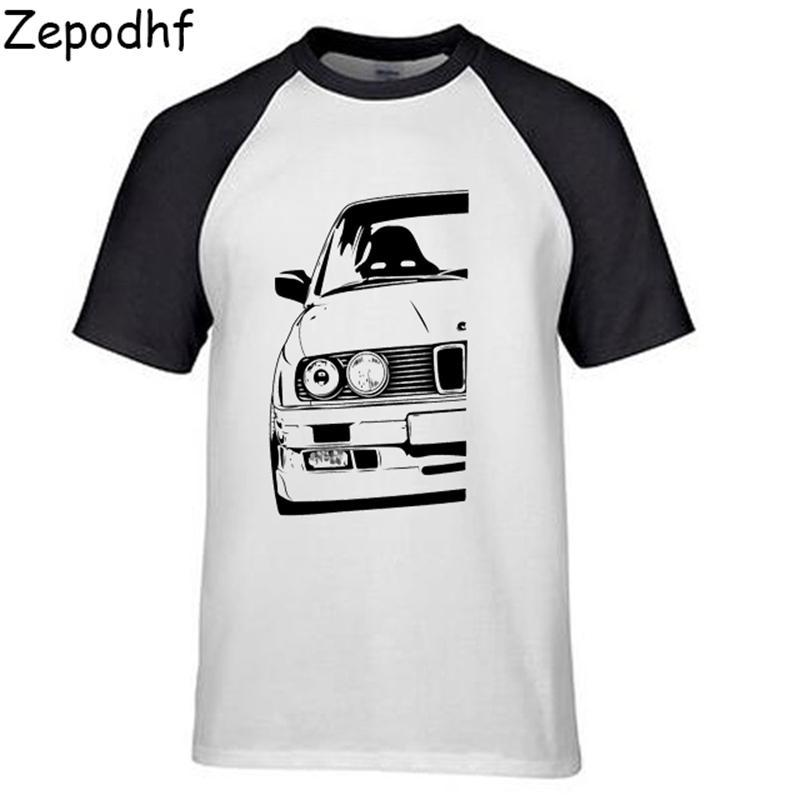 T-shirt à manches courtes Hipster Tshirt pour BMW E30 Tees Tees Vêtements Chemises Cool Chemises 210301
